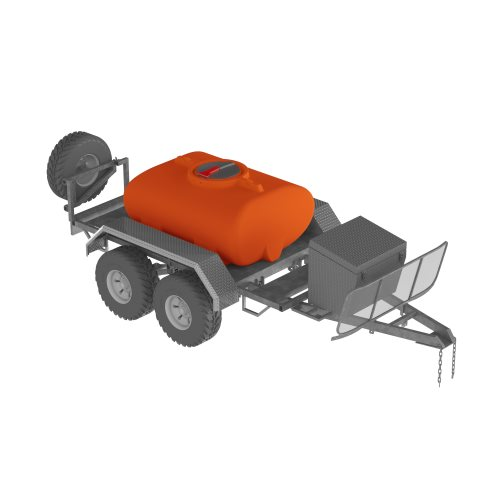 2,000L Firefighter trailer