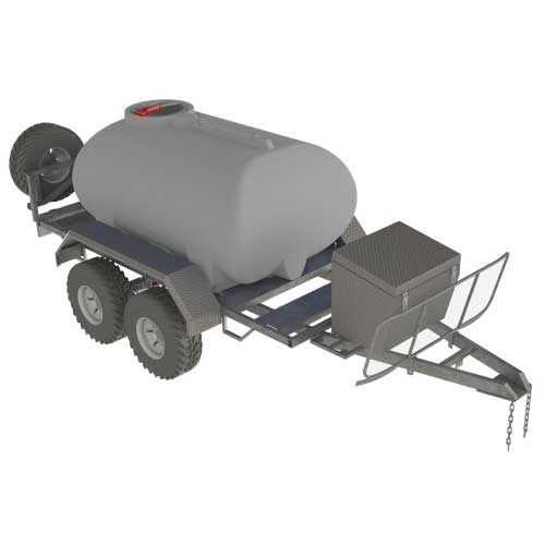 2,000L Diesel Supply Trailer