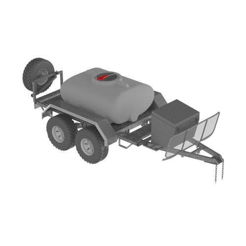 1,200L Diesel Supply Trailer