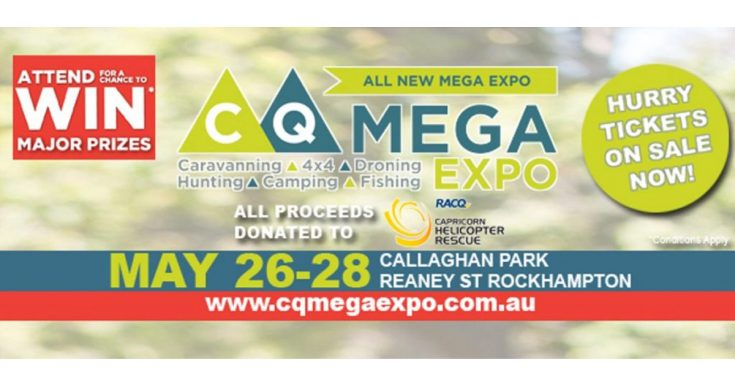 We're at the CQ Mega Expo (26-28 May 2017)